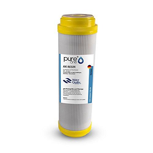 PureOne AK Resin Anti-Kalk. 100% Resin Granulat. Die Kalkfilter Wasserenthärtungs-Kartusche für 10 Zoll Wasserfilter Gehäuse