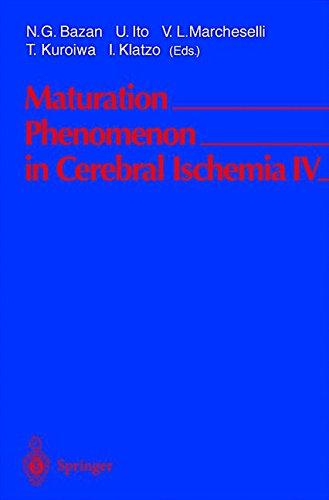 MATURATION PHENOMENON IN CEREBRAL ISCHEMIA IV