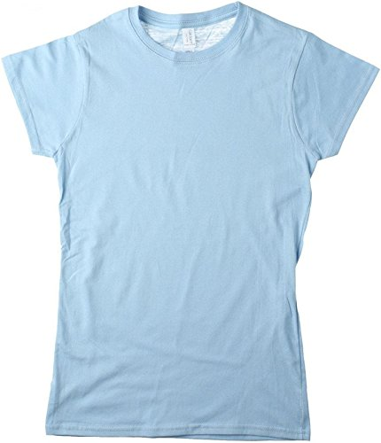 Softstyle Ladies?? T- Shirt Light Blue