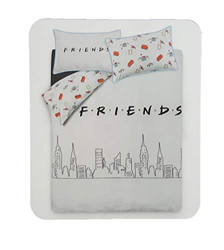 Juego de Funda de edredón para Cama Doble, diseño de Primark Grey, Friends, TV, decoración del hogar