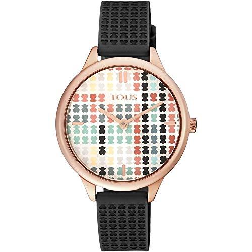 Tous Armbanduhren Damen Analog Quarzwerk Silikonband 900350135 (Marke Tous)