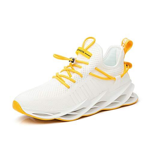 Damyuan Zapatos Deportivos Malla Tejida Mosca Zapatos