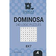 Creator of puzzles - Dominosa 240 Logic Puzzles 8x7 (Volume 4)