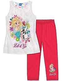 Disney La Reine des neiges Fille T-Shirt avec leggings 2016 Collection - fushia
