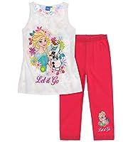 Pantaloni con cintura elasticizzata comoda; Grossa stampa; Stampa con effetto glitter; stampa all-over; Istruzioni di lavaggio: in lavatrice a 40°; T-Shirt: 100% cotone / Leggins 95% cotone, 5% elastan; jersey