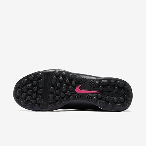 Nike Mercurial Vortex Ii Tf, Chaussures de Football Compétition Homme Negro / Rosa (Black / Black-Hypr Pink-Hypr Pnk)