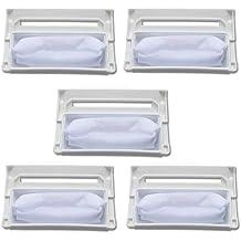 Fantisi 5 unids piezas de repuesto para una lavadora adecuada para LG lavadora filtro 5231FA2239N-