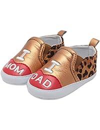 0390ae68acb08 BZLine 3-12mois Léopard Chaussures pour Tout-Petits Petite Respirant Bébé  mâle Bébé Femelle