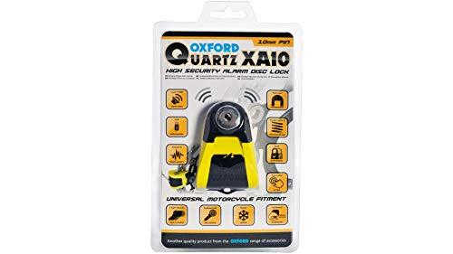 Oxford Bremsscheibenschloss Quartz XA + 110dB XA10 LK272 5030009095726