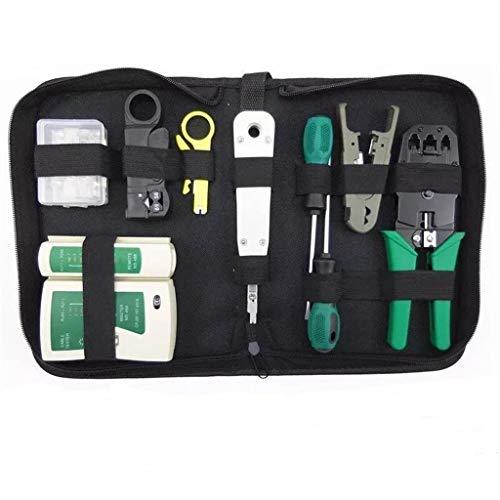 MA87 Netzwerkreparatur-Tool  Wartungstool 11-teiliger Kabeltester (Haar-versorgt Für Mädchen)