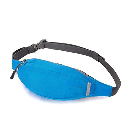 ChenBing Lauftasche mit elastischem Bund Multifunktions-Outdoor-Sport-Fahrradgürtel. Atmungsaktive Radtasche
