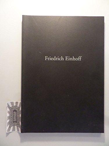 Friedrich Einhoff - Arbeit im Künstlerhaus Weidenallee Hamburg : Juli - August - September 1995.