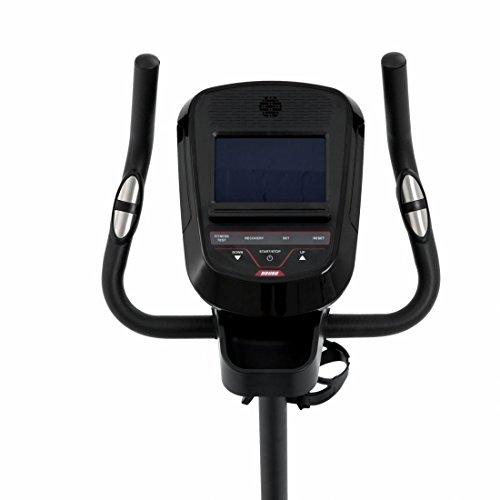 Spirit Upright Bike DBU 60 – Heimtrainer, Fitness Indoor Bike, Ergometer mit Hand-Puls-Sensoren - 7