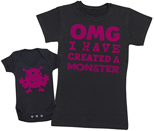 OMG I've Created A Rosa Monster! - Regalo para Madres y bebés en un B