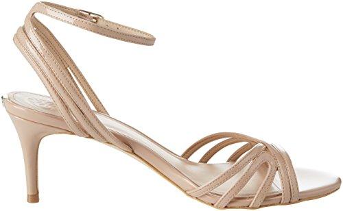 Guess Footwear Dress Sandal, Escarpins Bride Cheville Femme Beige (Medium Natural)
