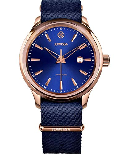 Jowissa Tiro Swiss J4.244.L - Reloj de Pulsera para Hombre, Color Azul y Rosa