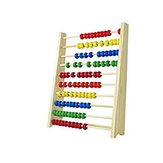 Wooden Abacus Educational Toy Multicolor Beads Design Children Early Learning Toy High Quality