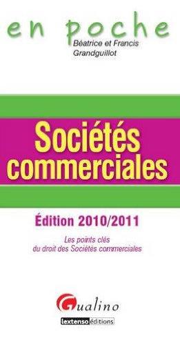 Sociétés commerciales par Béatrice Grandguillot, Francis Grandguillot