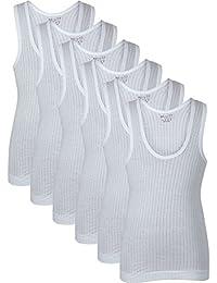 BODYCARE Boy's Regular fit Vest (Pack of 6)
