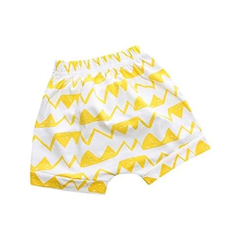 Shorts, Malloom Bambin Des Gamins Nouveau Née Bébé Filles Garçons Impression Bébé Pantalons Courts (12M(80),