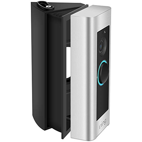 KIMILAR Ring Video Doorbell Pro Adjustable Angle Mount Bracket Wedge Kit Black