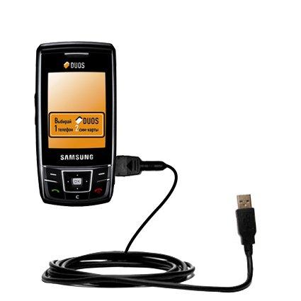 Das Hot-Sync Straight USB-Datenkabel für Samsung SGH-D880 DUOS mit Lade-Funktion mit TipExchange kompatiblen Kabel