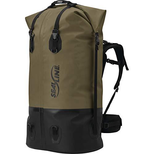SEALLINE Pro Pack Wasserdichter Rucksack, Unisex-Erwachsene, wasserdichter Rucksack, Pro Pack, braun, 120-Liter -