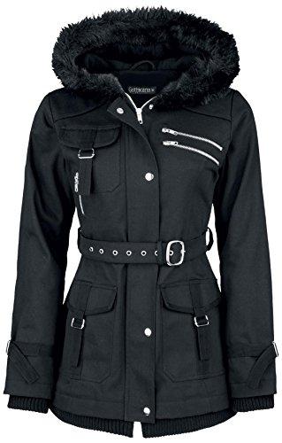 Gothicana by EMP Multi Pocket Jacket Giacca donna nero XL