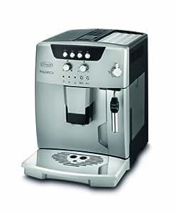 DeLonghi ESAM 04.120.S Kaffee-Vollautomat (1,8 Liter, Dampfdüse) silber