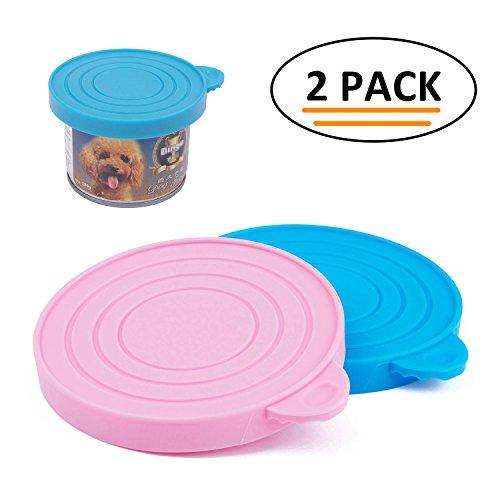 ThinkPet Silikon Hunde- und Katzennassfutter Dosendeckel für Verschiedene Dosengrößen (Katzenfutter Hunde-und)