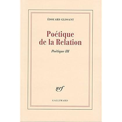 Poétique de la relation