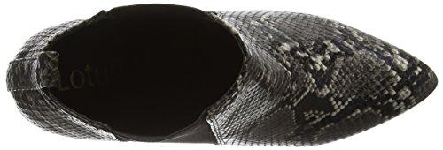 Lotus Chika, Bottes Classiques femme Noir - Black (Blk Print)