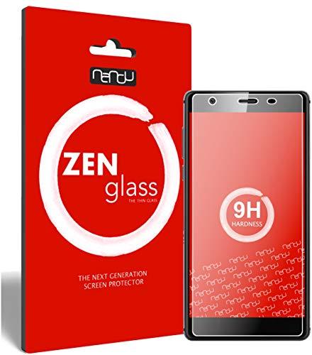 ZenGlass (2 Stück Flexible Glas-Folie für Oukitel U13 Panzerfolie I Bildschirm-Schutzfolie 9H I (Kleiner Als Das Gewölbte Bildschirm)