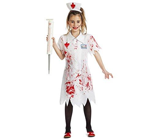 Imagen de disfraz enfermera zombie talla 10 12 años tamaño infantil
