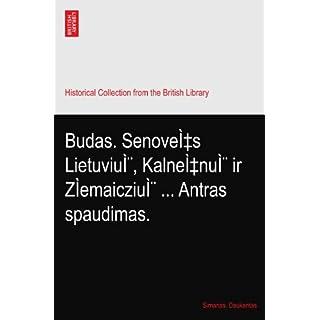 Budas. Senovės Lietuvių, Kalnėnų ir ZÌemaiczių Antras spaudimas.