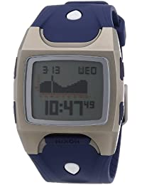 Nixon Herren-Armbanduhr The Lodown Ti Navy Digital Quarz Plastik A075307-00