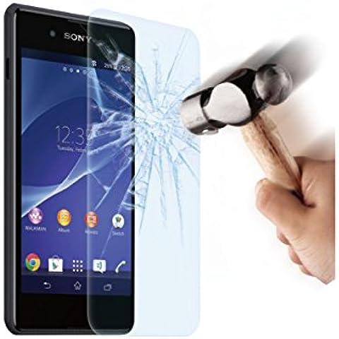 Made for Xperia SESCP0033 - Protector de pantalla para Sony Xperia E3 (cristal templado 9H, 0.33