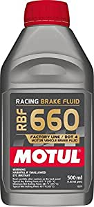 Liquide de frein Motul RBF 660Racing 0,5l