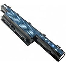Acer TravelMate 5740 (new50), Li-ion batería de 4400 mAh, 11,1 V, 4400 mAh, negro