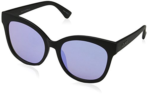 Quay Eyewear Damen Sonnenbrille IT'S MY Way, Black/Purple, 150