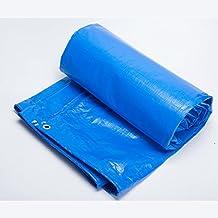Telone da esterno per teloni impermeabili Tarpaulin per alte temperature, copertura impermeabile per pioggia facile da piegare Telone impermeabile in polietilene resistente all'usura, spessore 0,4 mm, -180 g / metri quadri, 11 tipi di dimensioni tra cui scegliere