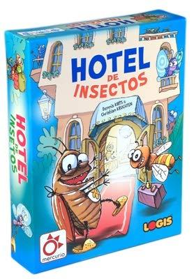 Mercurio Hotel insectos - juego mesa castellano