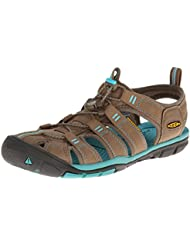 Keen  CLEARWATER CNX W-SHITAKE/BALTIC, sandales femme