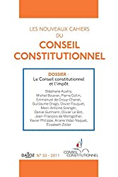 Les nouveaux cahiers du conseil constitutionnel nº37