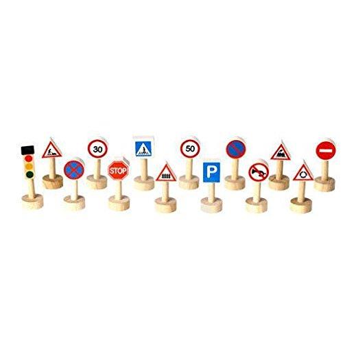 Plantoys - PT6203 - Figurine - Transport et Circulation - Panneaux de Signalisation