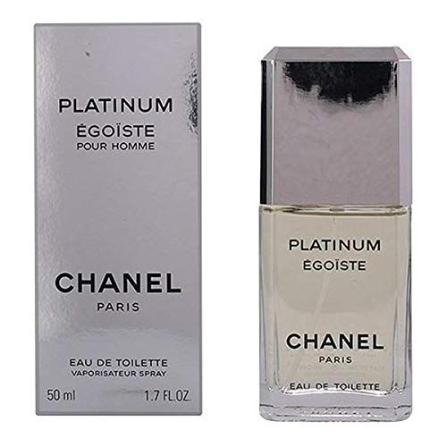 Chanel Egoiste Platinum Homme/Men, Eau de Toilette, Vaporisateur/Spray, 1er Pack (1 x 50 ml)
