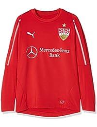 Puma Niños Diseño del VfB Stuttgart Jr with Sponsor Sudadera, Infantil, 924655, Ribbon