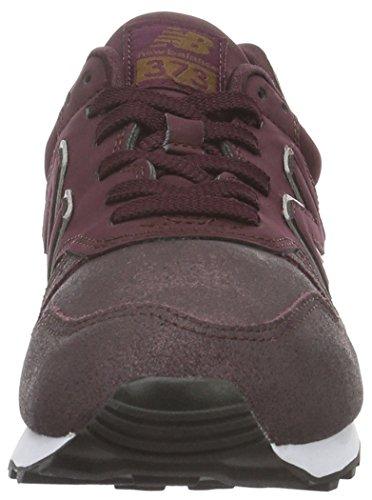 New Balance Wl373pg-373, Chaussures de Running Entrainement Femme Rouge (Burgundy 512)