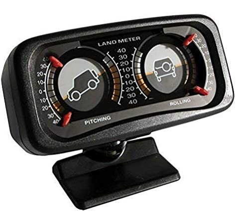 INCLINOMETRO ILLUMINATO 4WD AUTO FUORISTRADA 12V 74040