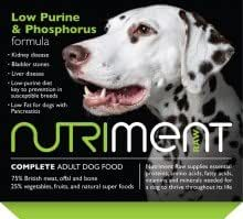 Nutriment Raw Natural Adult Low Purine and Phosphorus Formula 20 x 500g
